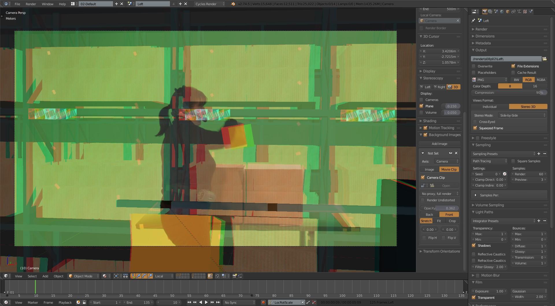 blender 3d cursor